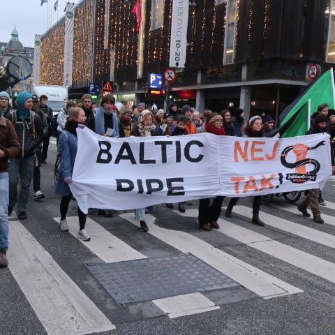 STOP Baltic Pipe demonstration