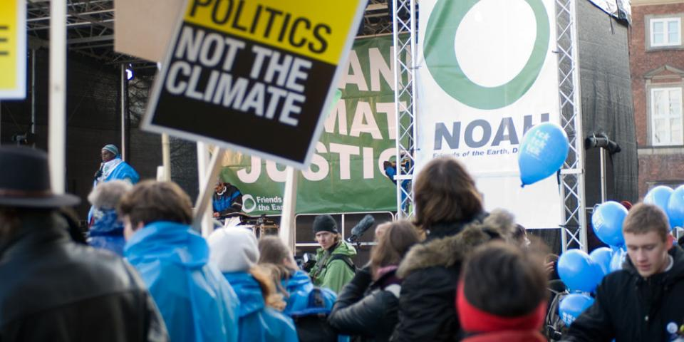 Change the politics not the climate